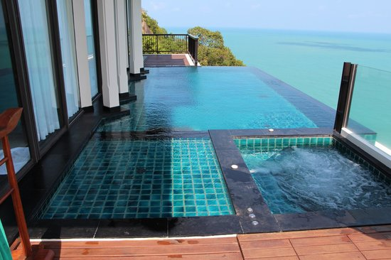 Banyan Tree Samui:                   Sanctuary Villa Plunge Pool and Jacuzzi