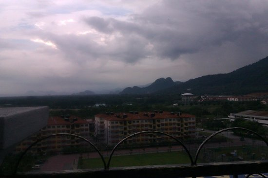 Grand Kampar Hotel: Scenery view from rooftop