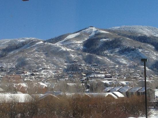 La Quinta Inn Steamboat Springs:                   the view from the room