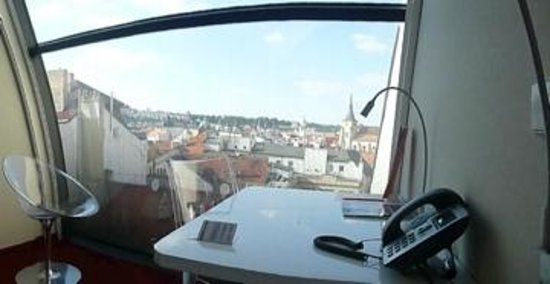 Design Metropol Hotel Prague:                   room view
