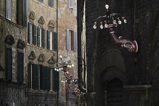 Tenuta di Corsano:                   Streets of Siena                 