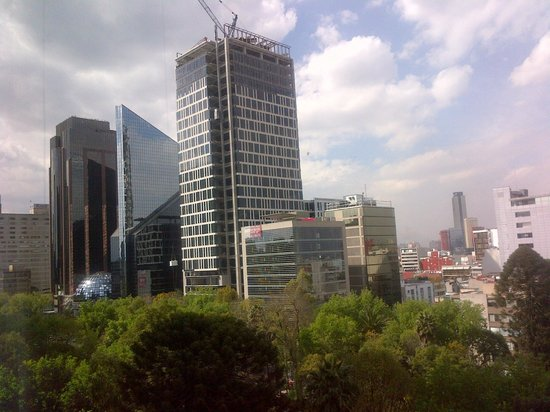 The view from my room picture of holiday inn express - Reforma express ...