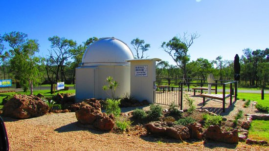 Rubyvale Motel and Holiday Units:                   Observatory