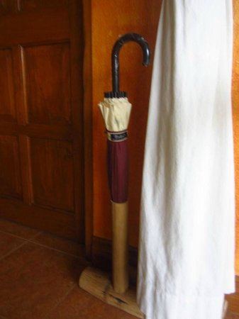 Coco Grove Beach Resort:                                     A thoughfully kept umbrella in our room                   