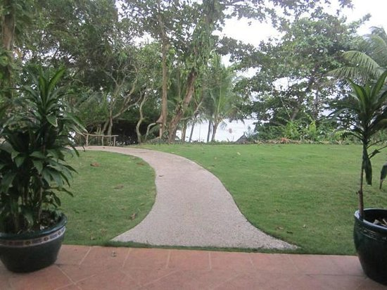 Coco Grove Beach Resort:                                     Gardens around the resort