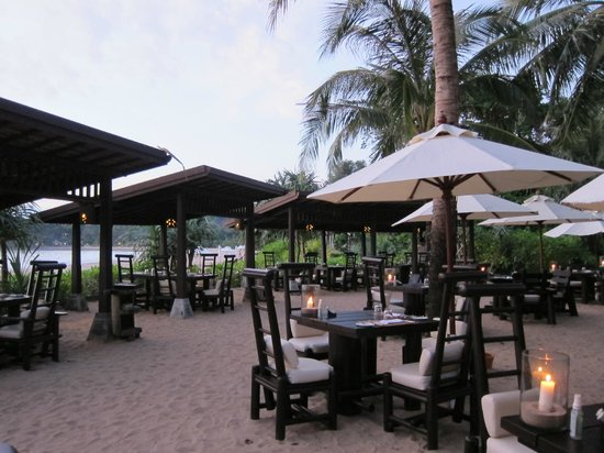 Pimalai Resort and Spa: Beach restaurant