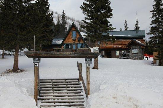 Teton Pass Ski Area: Entrance