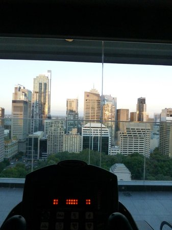 Pullman Sydney Hyde Park: Obligatory early morning gym visit