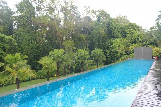 Amara Sanctuary Resort Sentosa: Pool right on the doorstep of room