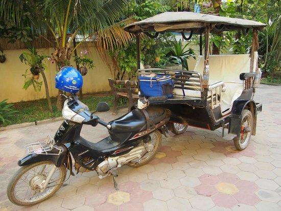 Check Inn Siem Reap:                   Hotel's Tuk-Tuk