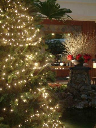 Hyatt Regency Jeju: 크리스마스 데코 로비