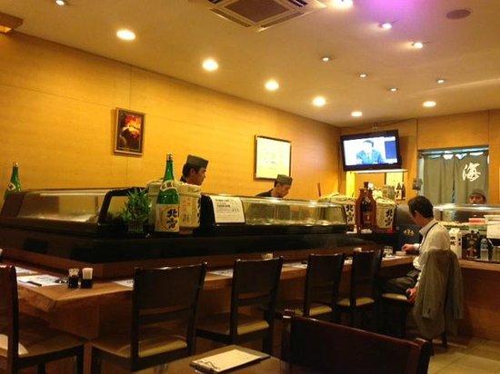 Kaihomaru :                                     The Sushi bar