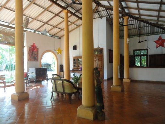 Ging Oya Lodge: Lobby