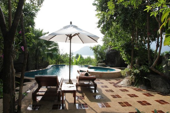 Santhiya Koh Phangan Resort & Spa:                                     Seaview Pool Villa - Private Pool