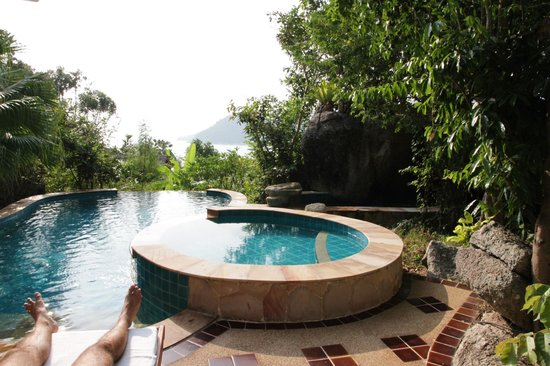 Santhiya Koh Phangan Resort & Spa:                                     Seaview Pool Villa