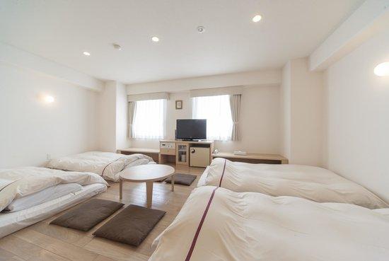Okayama View Hotel: MINNA Room (for 4 persons)