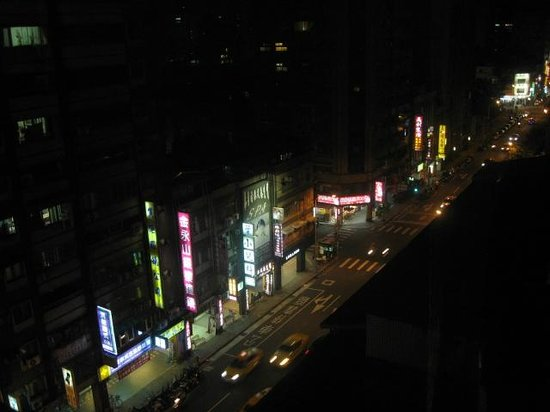 Meadow Hotel:                   11階からの眺め