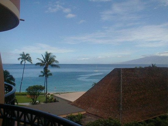 Royal Lahaina Resort:                                     view from balcony