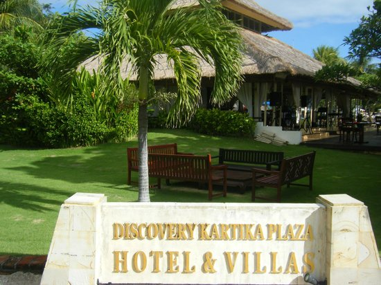 Discovery Kartika Plaza Hotel:                   敷地内