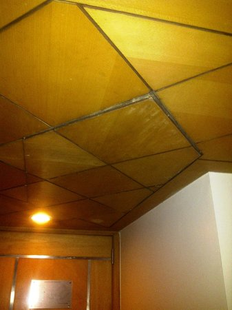 Park Plaza Ludhiana:                                     ROOM's ROOF HANGING LOOSE