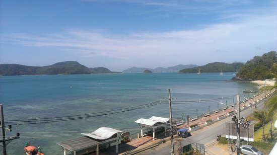 Kantary Bay, Phuket:                                     view from rooftop pool area