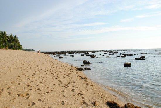 Coco Lanta Resort:                   Stranden ved lavvande