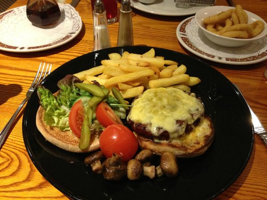 Mercure Altrincham Bowdon Hotel: excellent food