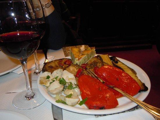 Enoteca Buccone:                                     antipasto