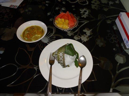 Sarang Rooms :                   B&Bでの朝食