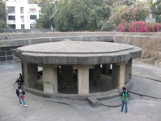 Pataleshwar Cave Temple:                   View from top