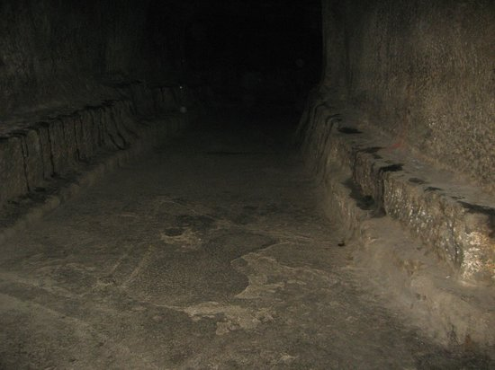 Pataleshwar Cave Temple:                   Inside view of the caves-1