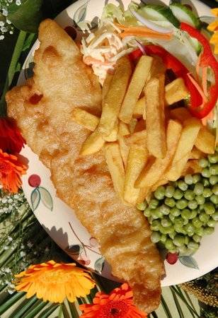 Lake District Coast Aquarium: Famous fish and chips in our Harbourside Cafe