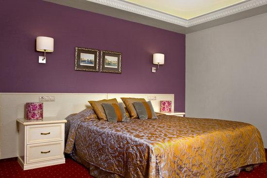 The Brothers Karamazov Hotel: interior room