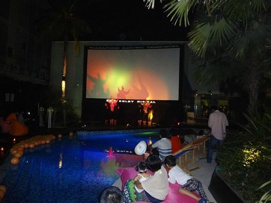 Hotel Baraquda Pattaya - MGallery by Sofitel:                   For the French Film Festival (Poolside)