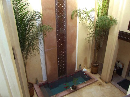 Riad Pourpre Medina:                   hall