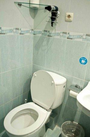 Hostal Armesto: bagno