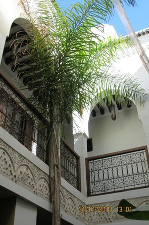 Riad Aguaviva:                   The Courtyard