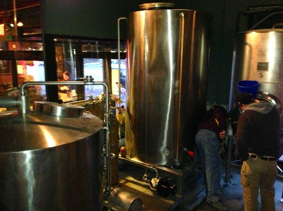 Herkimer Pub & Brewery: Brewery Tour