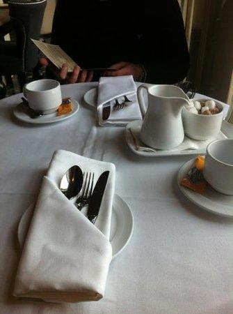 Killashee  - Hotel Spa Leisure: prelaid table