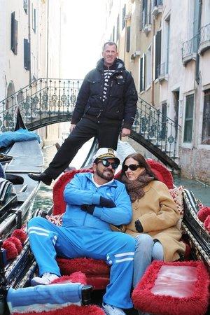 Hotel Becher:                   Passeio de Gondola