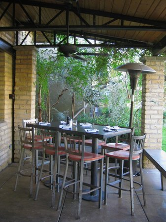 Outdoor seating-near the front door - Picture of Chelsea\'s Kitchen ...