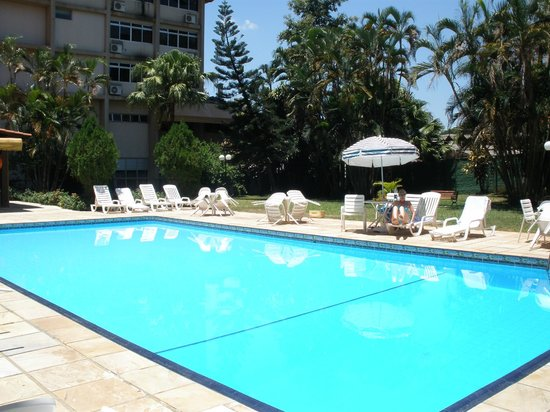 Foz Presidente Comfort: We often had the pool to ourselves
