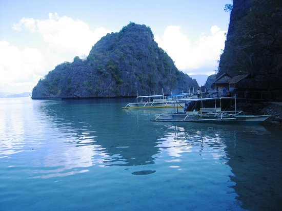Coron Bay: going to kayangan lake