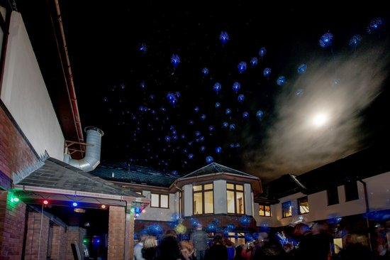 Peterstone Lakes Golf Club:                   Balloon release