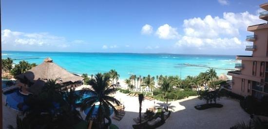 Grand Fiesta Americana Coral Beach Cancun:                   Vista desde la habitación