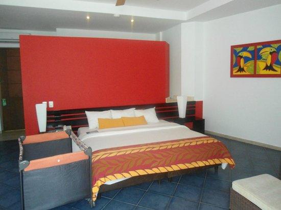 Royal Decameron Baru:                                     Dormitorio.