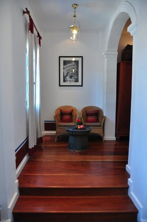The Belle Rive Boutique Hotel:                   entryway -- superior room without balcony