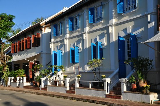 The BelleRive Boutique Hotel:                   hotel is comprised of three adjacent colonial buildings