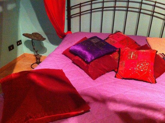 Shiva B&B:                                     Il letto
