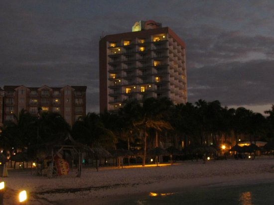 Divi Aruba Phoenix Beach Resort:                   High rise units